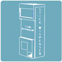 Stick Dispenser